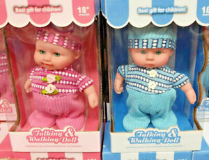 Talking & Walking Baby Doll Toy Baby Sounds Talking Gift Ideal Gifts for Babies