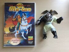 Dream Town DVD The Legend of Mu-Lan & Shan-Yu McDonald's Toy Very Good Condition