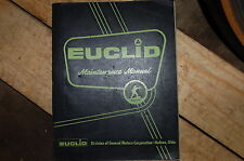 EUCLID 34-49 BOTTOM DUMP Scraper Maintenance Service Repair Manual book SHOP