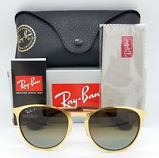 NEW Rayban Erika Metal Sunglasses RB3539 112/T5 54 Gold Brown Gradient Polarized