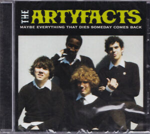 THE ARTYFACTS Maybe Everything That Dies FR Bordeaux Rock BXRROCK008 2008 CD