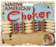 Native American Beaded Choker Necklace Forum Novelties