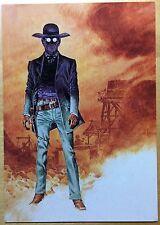COMANCHE Le doigt du Diable Carte postale Hermann CP n°40 1984 État neuf