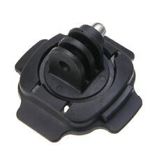 1PC 360 Rotating Gopro Hero 3 2 Sports Camera Helmet Fixed Base Sticker Knob US
