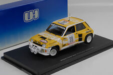 RENAULT 5 TURBO 2 TOUR DE COURSE RALLY 1984 Hertz #38 UH 1:18