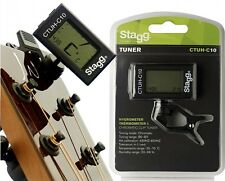 New Stagg CTUH-C10 Clip-On Tuner with Hygrometer & Thermometer