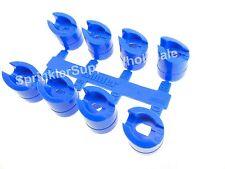 10 SETS Hunter PGP Standard Blue Nozzle Rack 665300  8 Nozzles Per Tree