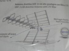 Antenna DIRETTIVA UHF alto guadagno attacco F 12 ELEMENTI 13dB 44018-S/LTE GBS