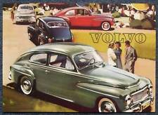 VOLVO PV544 USA Car Specification Sheet 1959 #UR6636