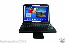 "Bluetooth Keyboard Leather Case For Samsung Galaxy Tab 3 10.1"" P5200 P5210 P5213"