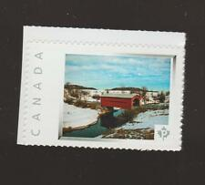 Canada Postage Picture Stamps Ruisseau Mech  Bridge at Chelsea MNH