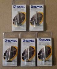 "5 New Dremel 433, 428 Carbon Steel 3/4"", 19.1mm Wheel Brushes 1/8"", 3.2mm Shank"