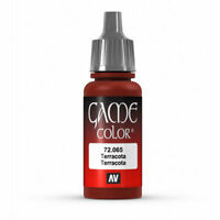 VAL72065  AV Vallejo Game Color - Terracotta  17ml Bottle Acrylic Model Paint