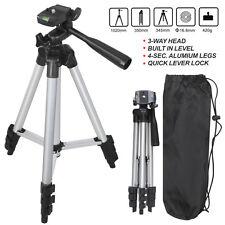 Universal Aluminum Portable Tripod Stand Camera Camcorder W/Bag for Canon Nikon