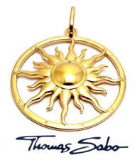 Thomas Sabo Anhänger Sonne UVP-179,00 € PE554-413-12, 925/- Silber vergoldet,