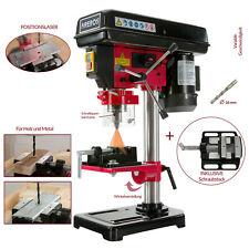 AREBOS Tischbohrmaschine Säulenbohrmaschine Standbohrmaschine Laser Schraubstock