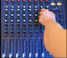 TL Audio M3 Tubetracker 8-Channel VALVE TUBE Mixer + Stand