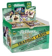 2018 TLA NRL Traders New Sealed Trading Cards Box (36 Packs)