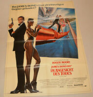 A1 Filmplakat ,IM ANGESICHT DES TODES,JAMES BOND 007 ,   ROGER MOORE-02