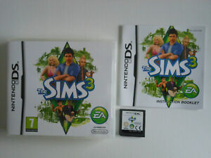 THE SIMS 3 * NINTENDO DS / LITE / DSi . 100% GENUINE games sold here
