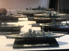 More details for model warships collection 11 ww2 boats collectable fantastic with boxes see list