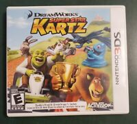 DreamWorks Super Star Kartz (Nintendo 3DS, 2011) Superstar Karts ***Tested