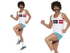 118 118 MENS RUNNER FANCY DRESS COSTUME STAG NIGHT NOVELTY COSTUME MEDIUM