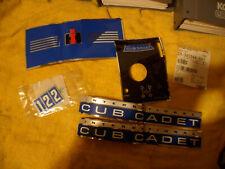 Cub Cadet 122 Factory OEM Decal Set NOS