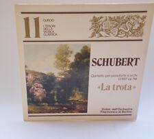 """I Tesori della Musica Classica LP 33 Giri CURCIO Vinile 11 SCHUBERT """"La Trota"""""""