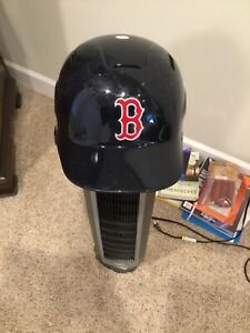 Boston Red Sox game used batting helmet. Dual flaps. Uncracked. #63 S100 7.5