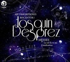 Josquin Desprez: Messes - La sol fa re mi; Gaudeamus (CD, Nov-2013, Ligia)