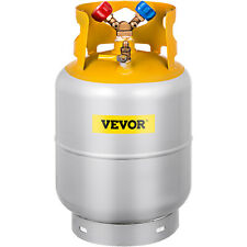 Vevor Refrigerant Recovery Reclaim 30 Lb Cylinder Tank 400 Psi R410a Rated
