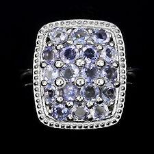 Ring Iolith 925 Silber 585 Weißgold Gr. 57