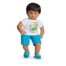 """American Girl BT BITTY TWIN SAILBOAT SWIM OUTFIT for 15"""" Doll (In package) NEW*"""