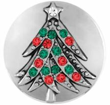 """Get 1 $6.95 Snap Free sn19-25 Ginger Snaps Jewelry """"Holiday Tree� Buy 4"""