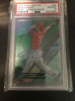 2017 Topp High Tek Green Rainbow /75Jesse Winker RC Auto PSA 10 💎 Mint Reds