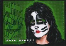 """Eric Singer """"Kiss"""" autógrafo signed 13x18 cm imagen"""
