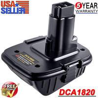 DCA1820 Battery Adapter Converter For DEWALT 18Volt Tools to 20V Max Lithium-ion