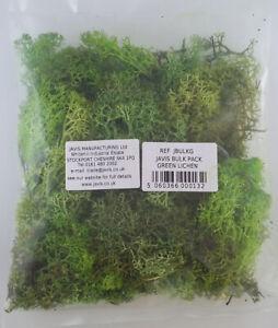 Bulk pack green lichen - Javis JBULKG