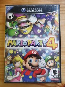 Mario Party 4 (Nintendo Gamecube) Original Case Only Authentic