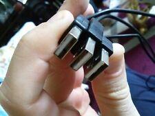 CABLE USB A MINI USB A ALARGADOR USB entrada y salida usb