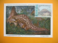 Card Maximum Laos- Carte Maximum Laos- Temmincki - Pangolin Animaux