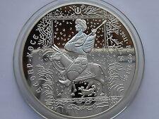 Kazakhstan Kasachstan 500 tenge 2011 Tale Aldar Kose silver 1oz mint.4000