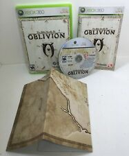 The Elder Scrolls IV Oblivion - Microsoft Xbox 360 - MAP INCLUDED