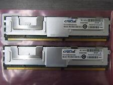 Crucial 8GB RAM 2x4GB PS2-6 DDR2 Server Memory