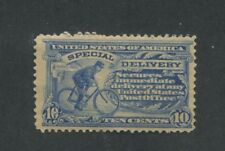 1902 US Special Delivery Stamp #E6 Mint Never Hinged F/VF Creased Gum