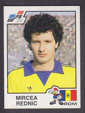 Panini - Euro 84 - # 189 Mircea Rednic - Romania