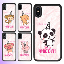 iPhone X 8 8 Plus 7 6s SE 5c 5s Case Animal Pink Marble Unicorn Cover For Apple