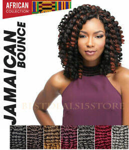 """Sensationnel Jamaican Bounce Crochet Braids Braiding Hair Extensions 26"""""""