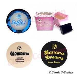 W7 Banana Dreams / Honolulu / Glowcomotion / Honolulu Loose Powder *WELL PACKED*